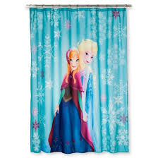 disney frozen anna u0026 elsa shower curtain target