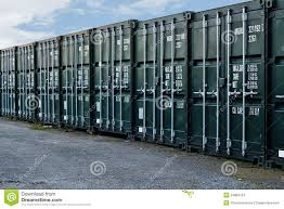 shipping containers stock photo image of self green 34884754