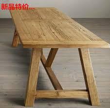 vieux bureau en bois pas cher faire le vieux bois vintage antique table à manger pour