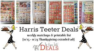 the harris teeter deals bringing you new deals at harris teeter