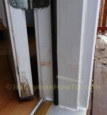 exterior door frame repair rot saw out rotted section jamb kit