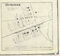 Map Of Delaware Ohio by Ohio Delaware Scioto Ostrander History Genealogy Maps