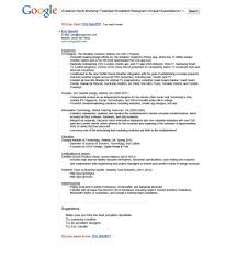 Amazing Resumes Examples 28 Resume Samples For Google Jobs Free Resume Templates For