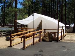 south lake tahoe ca official website tent cabin information