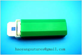 types of green color sugar testing 26g green color safety blood lancets pa type