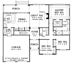 Donald A Gardner Floor Plans by European Style House Plan 3 Beds 2 00 Baths 1676 Sq Ft Plan 929 53