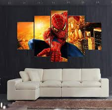 Wall Art Home Decor Compare Prices On Spiderman Canvas Art Online Shopping Buy Low