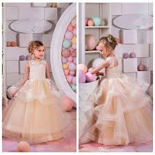 tulle for sale top sale lace appliques and chagne tiered tulle skirt sleveless