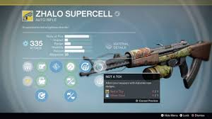 destiny zhalo supercell ornaments rise of iron
