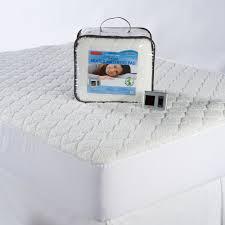 heated sherpa mattress pad