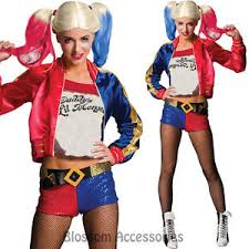 Halloween Costumes Harley Quinn Cl965 Squad Ladies Harley Quinn Costume Harley Quinn U0027s