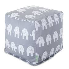Bean Bag Furniture by Cubes Poufs Footstools Majestic Home Goods