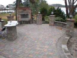 Brick Patio Design Ideas Here Brick Patio Outdoor Fireplace Dma Homes 50536