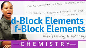 d block elements f block elements concept chemistry by