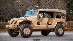 gmc jeep competitor bbc autos nine military vehicles you can buy