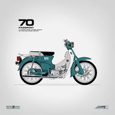 honda c70 motos pinterest honda honda cub and motorcycle