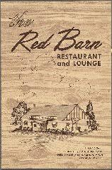 J Barn Restaurant Menu The Red Barn Restaurant And Lounge Menus Whats On The Menu