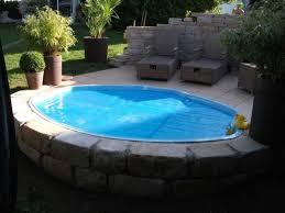 Pool Selber Basteln Garten Mit Kleinem Pool