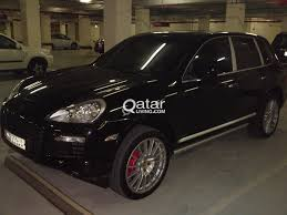 porsche cayenne all black porsche cayenne turbo 2009 black mettallic qatar living