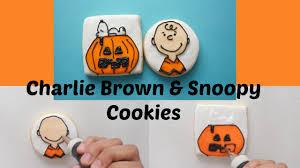 charlie brown sugar cookies youtube