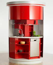 mini kitchen design ideas revolving circle compact kitchen idesignarch interior design