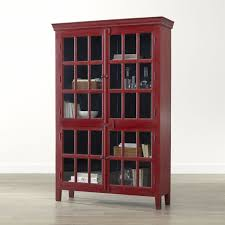 tall dining room cabinet rojo red tall cabinet crate and barrel crates barrels and