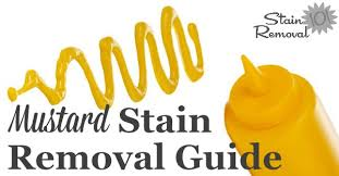 Mayonnaise Stain Removal Guide Mayonnaise Upholstery And Household Mustard Stain Removal Image Jpg