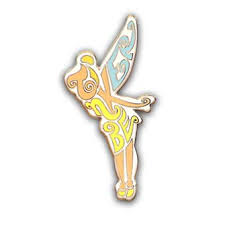 wdw store disney tinker bell pin tinkerbell letters