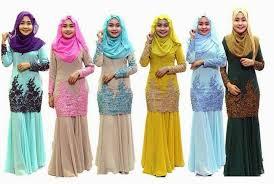 baju kurung moden zaman sekarang maria hasun june 2015