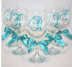diy monogram wine glasses 7 personalized and bridesmaid wine by sweetsoutherncompany