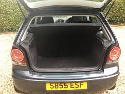 volkswagen polo trunk used volkswagen polo hatchback 1 4 se 5dr in beckley oxon david