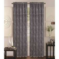 Grey Cream Curtains Kashi Home Curtains U0026 Drapes Window Treatments The Home Depot