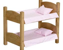 Hand Made Bunk Beds by Doll Bunkbed Etsy