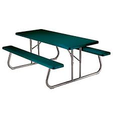 6 foot folding table home depot lifetime 6 ft folding picnic table in green the home depot canada