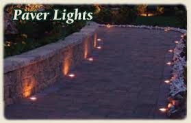 Patio Paver Lights Lighting For Your Driveway Or Patio Paver Lighting