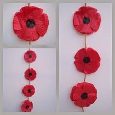easy diy poppy pins for classmates on veterans day felt buttons