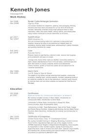 Resume For Cook Job by Sanitation Resume Samples Visualcv Resume Samples Database