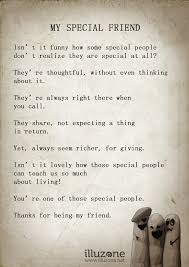 quote my special friend illuzoneilluzone