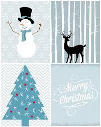 Free Christmas Crafts Ideas Christmas Printables In Blue Free Christmas Printables Free And