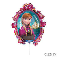 frozen elsa u0026 anna mylar balloon