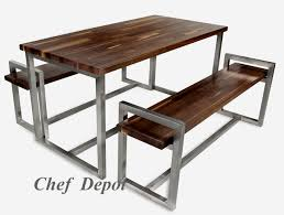 Black Walnut Table Top by John Boos Metro Designer Series Tables And Butcher Blocks On Sale