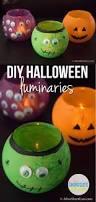 paper bag halloween luminaries diy halloween luminaries