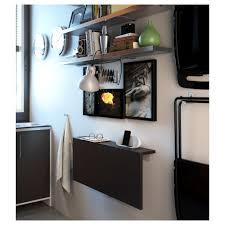build wall mounted drop leaf table uncategorized wall mounted standing desk in beautiful bjursta wall