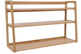 ikea garage shelving arresting decoration using 3 tier solid oak wooden ikea shelves
