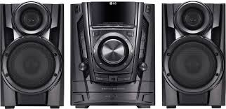 lg 200w 3 disc hi fi shelf system black cm3370 best buy