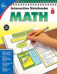 amazon com math grade 8 interactive notebooks 0044222251192
