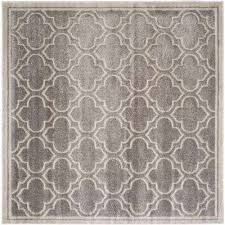 Square Outdoor Rug Gray Square Outdoor Rugs Rugs The Home Depot