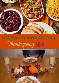 5 ways to save on your thanksgiving meal mending the piggy bank