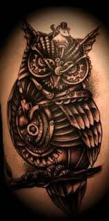 owl tattoos that will keep you awake