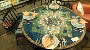 Mosaic Patio Tables Decoration Mosaic Patio Tables And Outdoor Patio Mosaic
